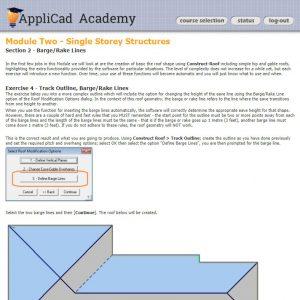 AppliCad Academy online training screenshot