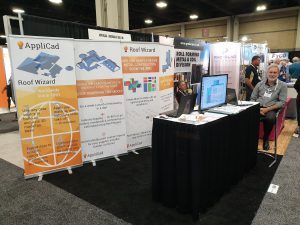 The image shows the APPLICAD METALCON18 booth