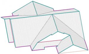 roof estimating details – AppliCad 3D Roof Model