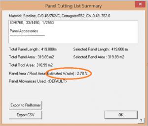 AppliCad Block Cutting List