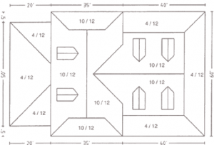 roof estimating details - AppliCad Roof Dimensions