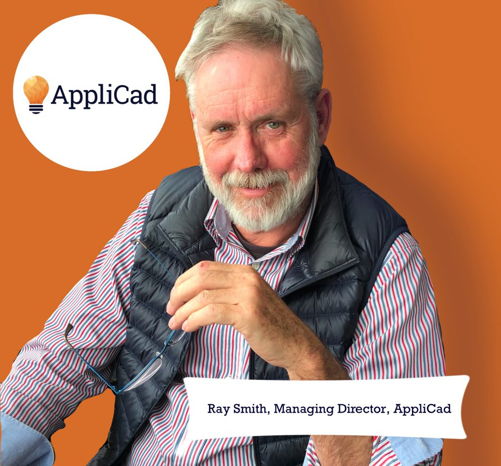 This image shows AppliCad's managing Directro, Ray Smith. https//www.applicad.com