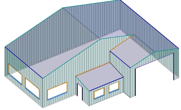 AppliCad Roof Wizard Walls-with-Roof-2 www.applicad.com
