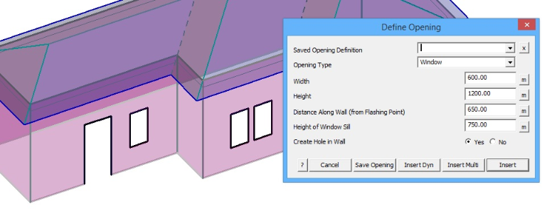 Estimating Walls-with-Roof AppliCad Roof Wizard www.applicad.com
