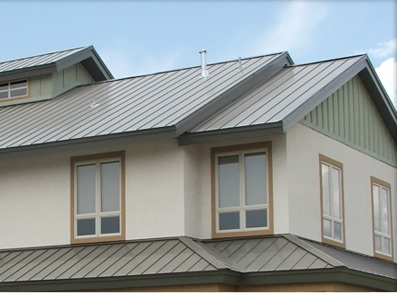 Double storey metal roofs can be challenging.